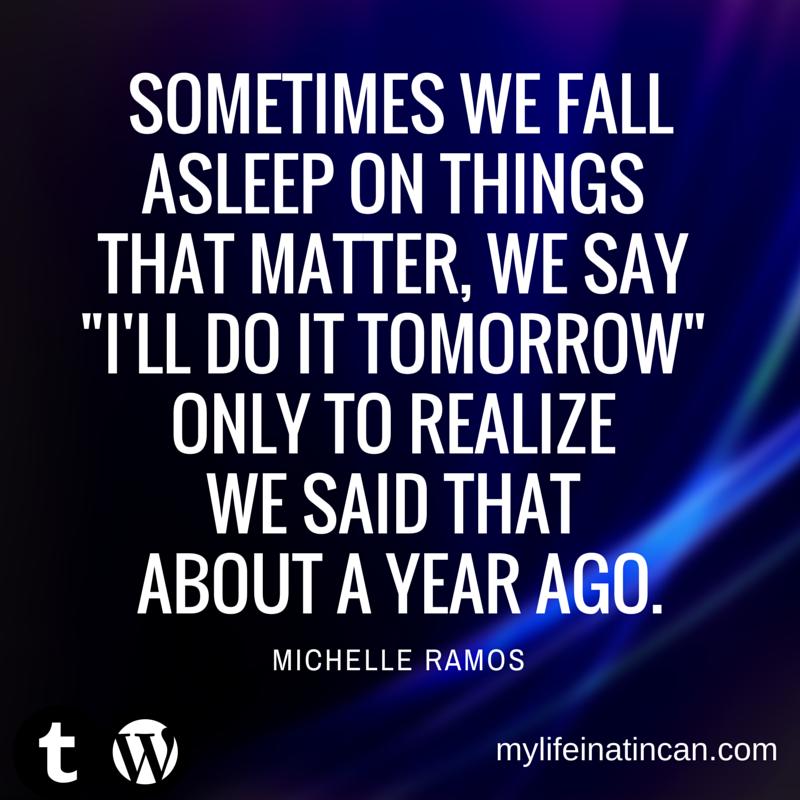 Blog Quotes from mylifeinatincan.com